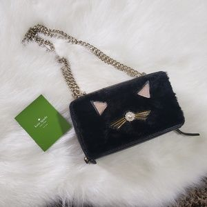 NWT Kate Spade Brighton Lane Cat Purse